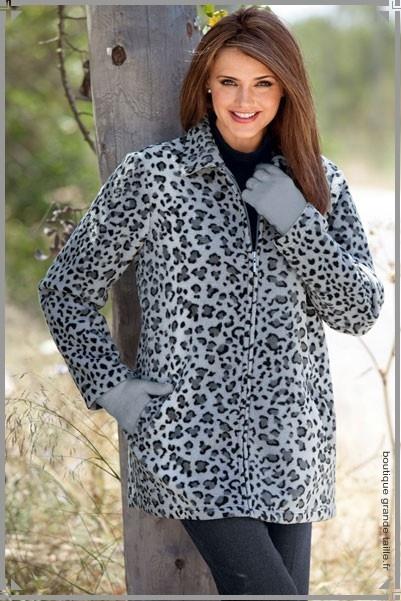 Veste sportswear femme grande taille