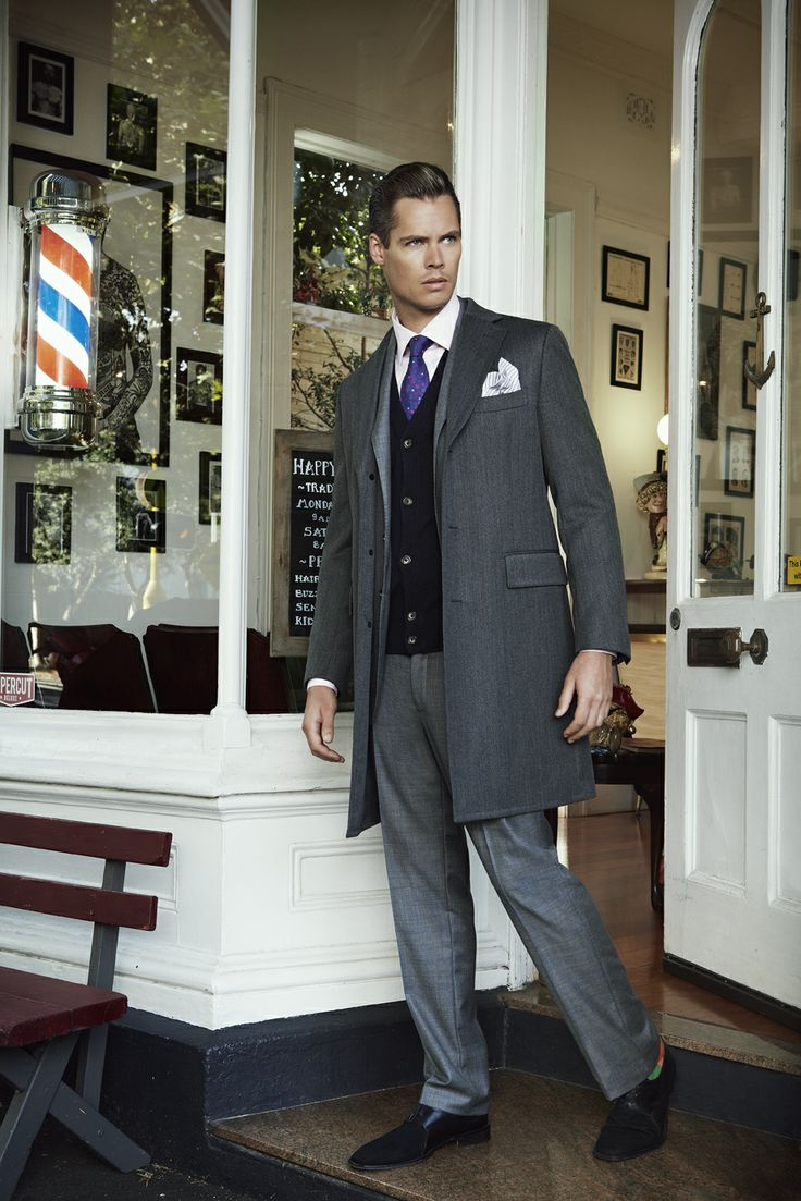 Styled by Parish Stapleton and photographed by Marty Lochmann. #fashion #styling #suiting #barber #happysailor