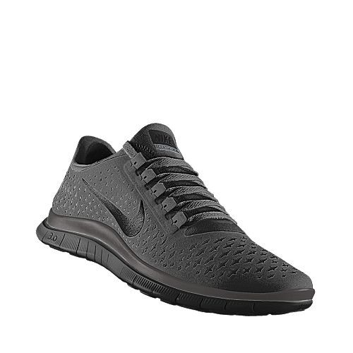 NIKE Free Run iD / matte black / need a new pair of gym shoes....
