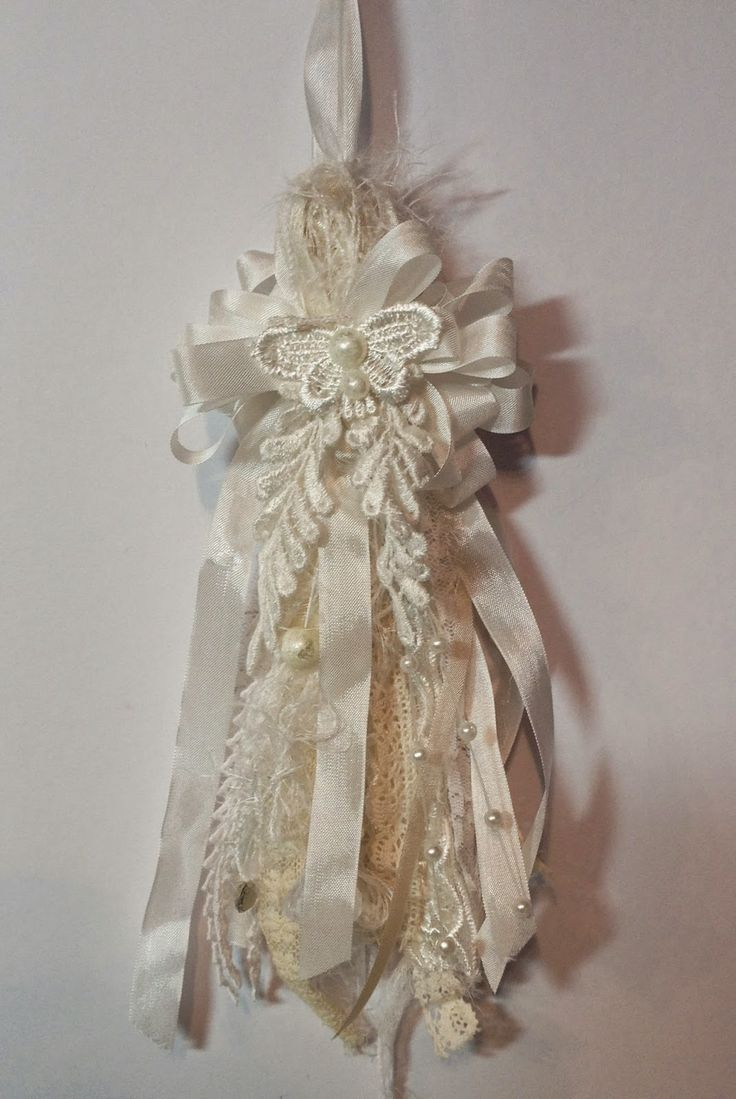 shabby chic crafts to make | to make a this shabby chic tassel with laces seam binding crystals ...