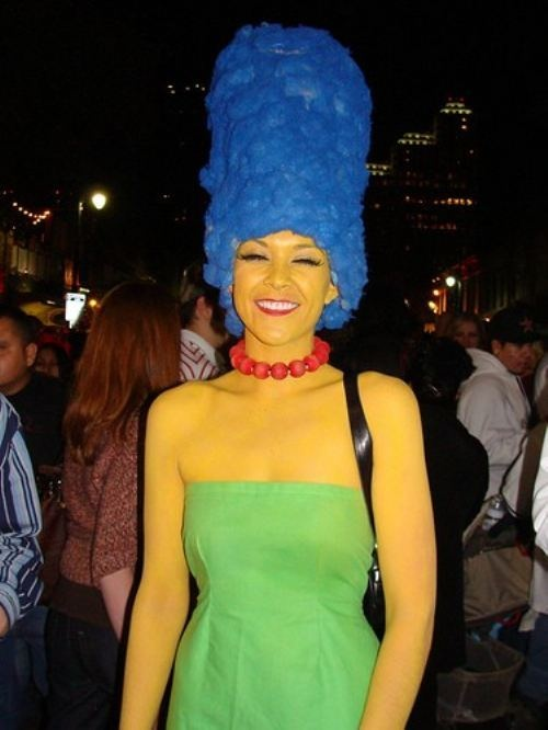 90s costumesDiy Costumes, 27 Photos, Marge Simpsons Costumes, Halloween Costumes Ideas, Diy Halloween Costumes, Halloween Ideas, Body Paint, Halloween Diy, 90S Costumes