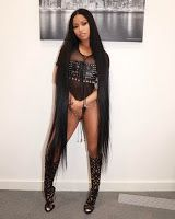 Nicki twerk for being the only woman in billboard history to have 76 Hot 100 billboard entries (VIDEO)    This week Queen Nicki Minaj brake-record as 76 of her songs hit the Billboard Hot 100 list surpassing a 40-year record held by soul singer Aretha Franklin. She poses sumptuously in recent photo on a black transparent outfit Leather bra and a see through foot wear. Continue reading about her Billboard record...  The raunchy Queens rapperwho officially became the title holder of the most…