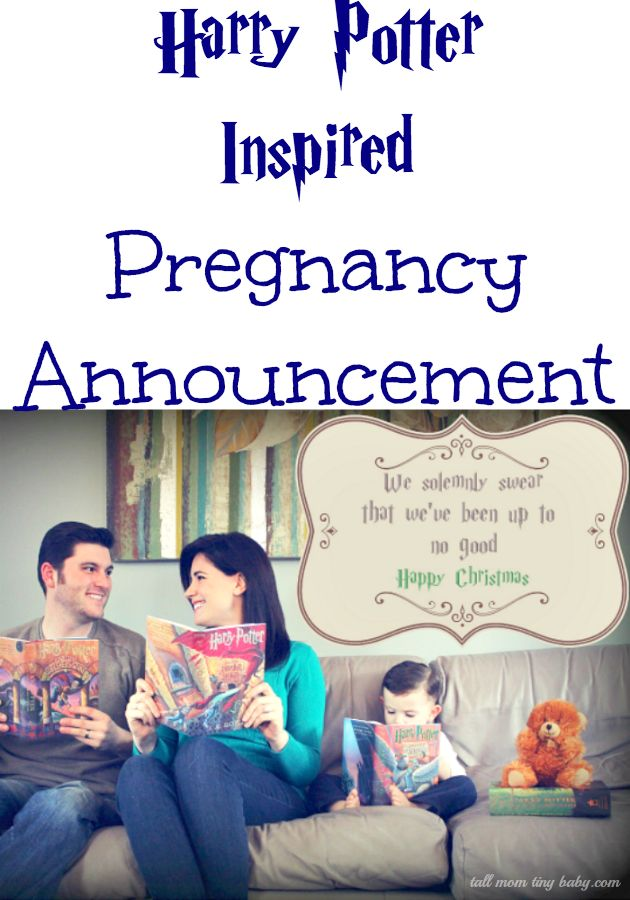 harry potter pregnancy announcement #ad