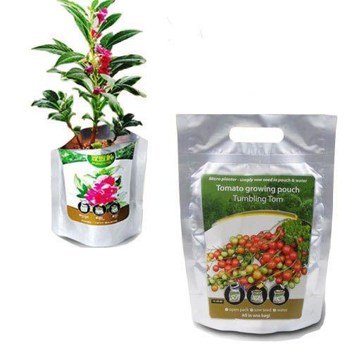 Een zakje groenten Deze verpakking ziet er gewoon goed uit. Het is een zak met daarin een plant naar keuze. Geschikt voor bijvoorbeeld groenten (tomaat, rode pepers, paprika), maar ook voor een bloeiende plant.#relatiegeschenken # Gifts # Giveaway #origineel #idee #marketing #sales