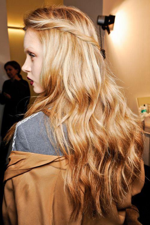 the most gorgeous hair!Olive Oil, Blondes Hair, Hair Colors, Dreams Hair, Wavy Hair, Long Hair, Dry Hair, Longhair, Hair Style