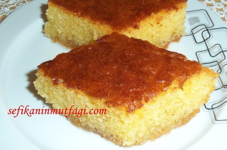 Revani Tarifi #TürkMutfağı #revani #şerbetlitatlı #tatlı #tatlıtarifleri #dessert  http://sefikaninmutfagi.com/revani-tarifi/