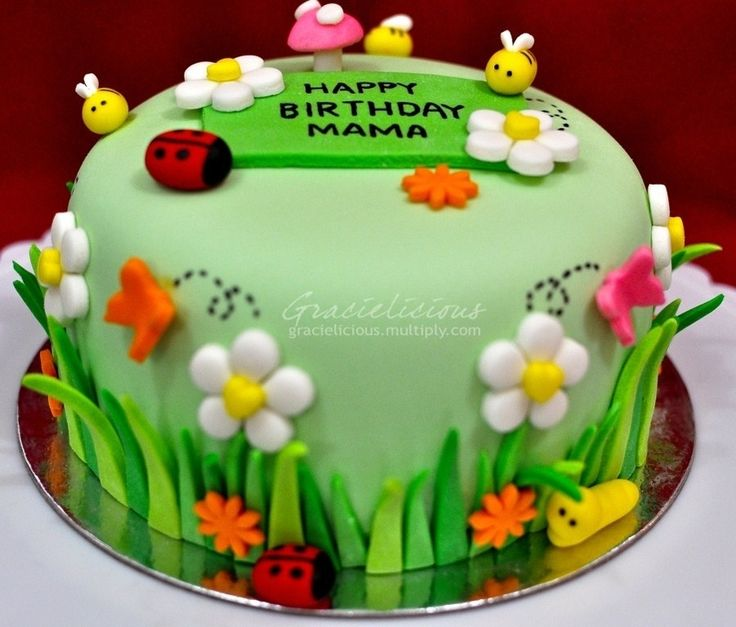 Garden Party Cake Images : 17+ best ideas about Garden Theme Cake on Pinterest ...
