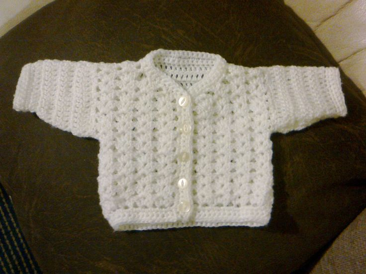 Free Baby Crochet Patterns | Baby Cardigan Crochet Pattern | Crochet Guild