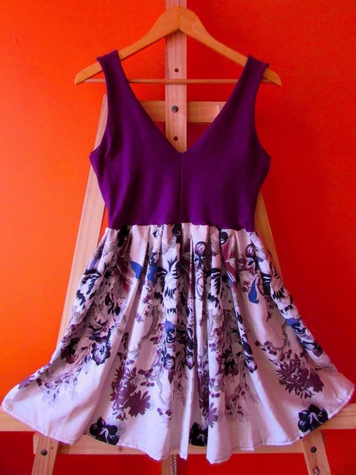 Vestido Elasticado y Viscosa de algodón   caronovic@gmail.com