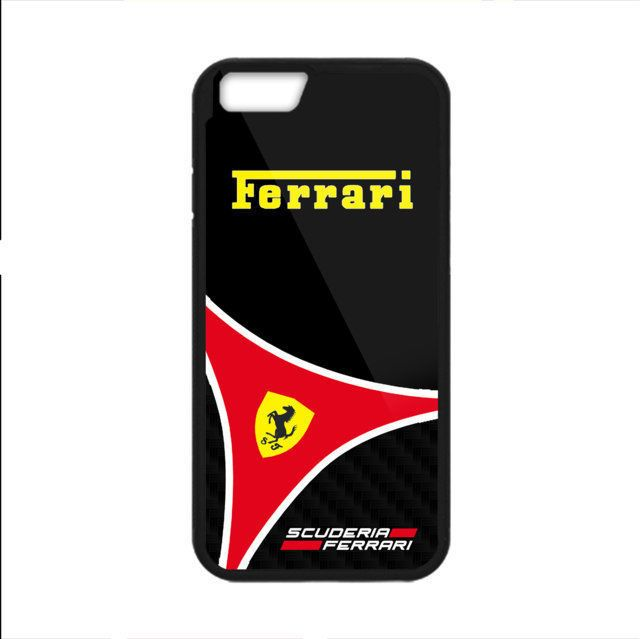 RARE Ferrari Scuderia Print On Hard Plastic Cover Case For iPhone 6/6s 7/7 plus #UnbrandedGeneric