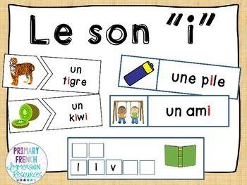 """Le son """"i"""""""