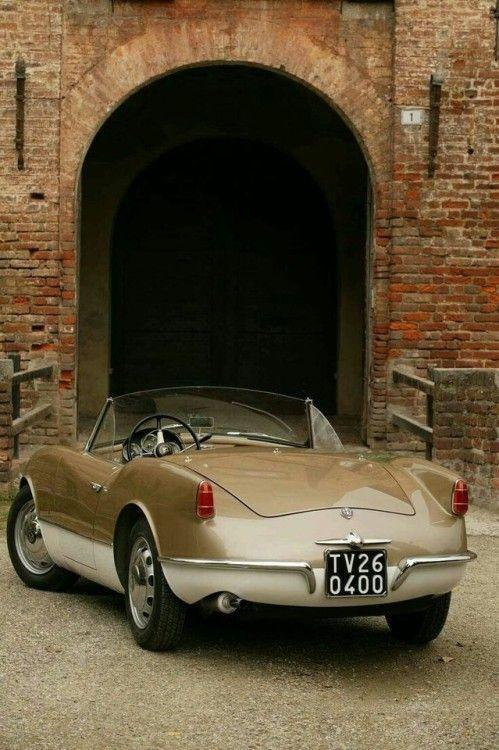 Alfa Romeo spyder Giulietta prototype