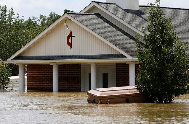 hurricane katrina victims floating in flood | spokeswoman for Louisiana governor John Bel Edwards, Shauna Sanford ...