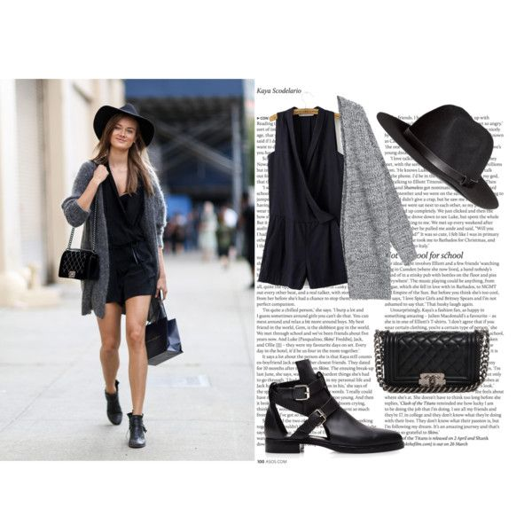 f by andreeamoldo on Polyvore featuring Pierre Hardy, Chanel, H&M and ASOS