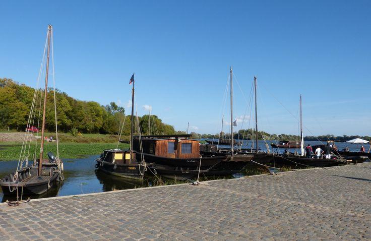 La Loire à vélo-Port de la Possonière-Maine et Loire