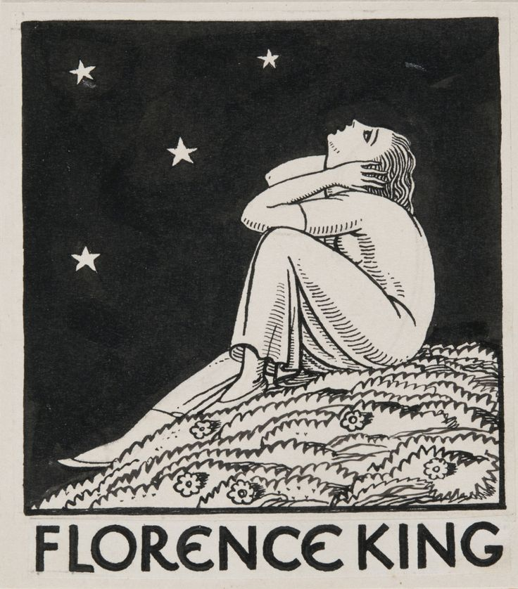 Philadelphia Museum of Art - Collections Object : Bookplate Design for Florence King