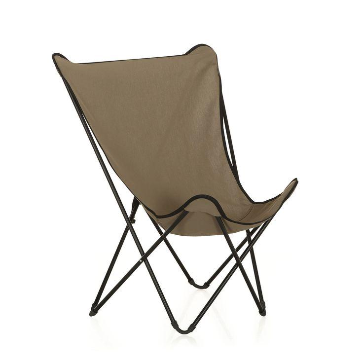 fauteuil de repos pliant beige lafuma beige maxi pop up les fauteuils de jardin les tables. Black Bedroom Furniture Sets. Home Design Ideas