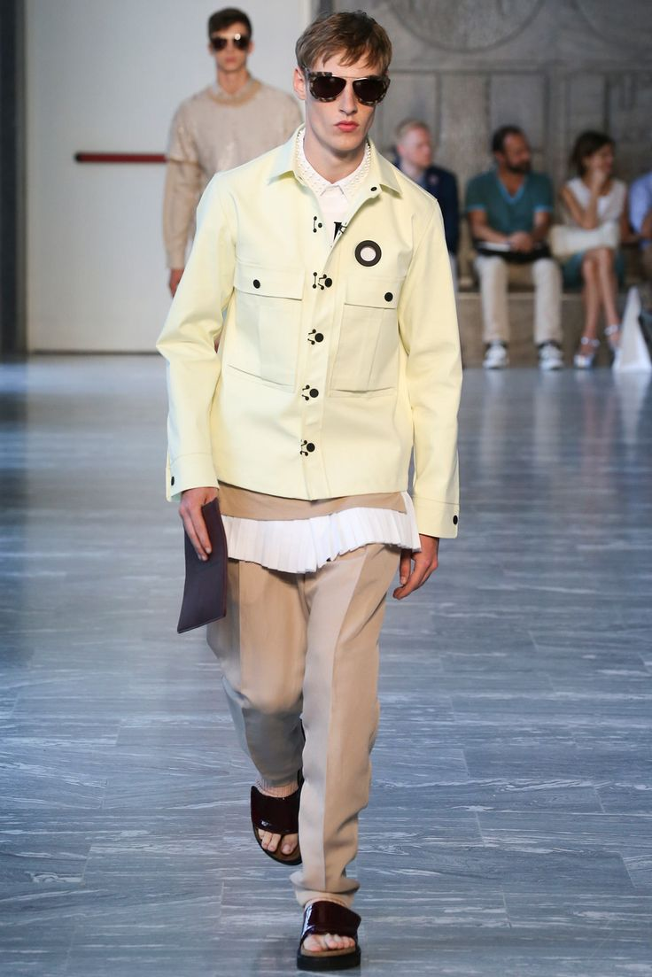 Andrea Pompilio Spring 2015 Menswear Fashion Show