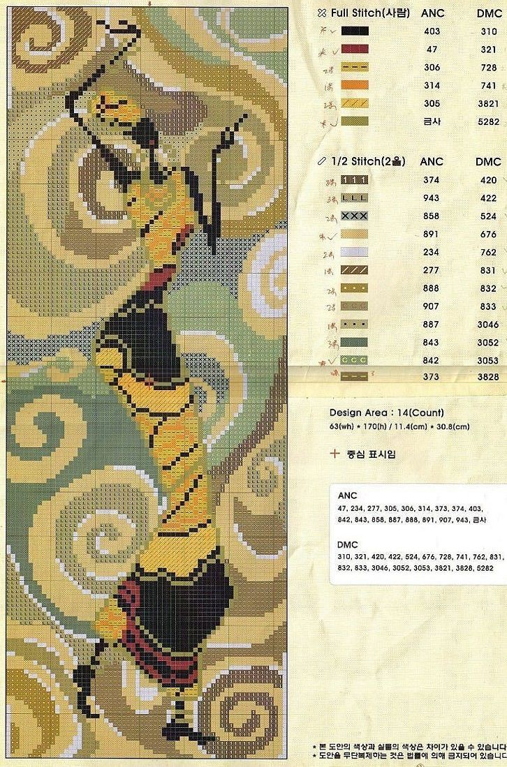 0 point de croix femme africaine dansant - cross stitch dancing african lady