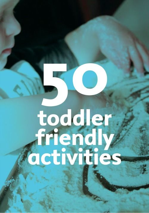 Messy activities toddlers can dig right into.