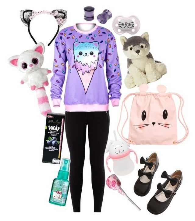 """""""#littlespace"""" by hold-on-til-may on Polyvore featuring New Look, MAISON MICHEL PARIS, Hot Topic and H&M"""