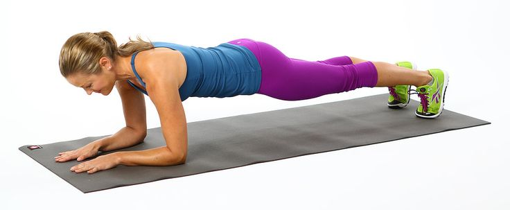 Plank is one of the most effective total-body moves, so here's a new challenge for you to conquer — a five-minute plank. Since holding a straight-up plank wouldn't be any fun (and could end up causing an injury), this challenge mixes up five basic.