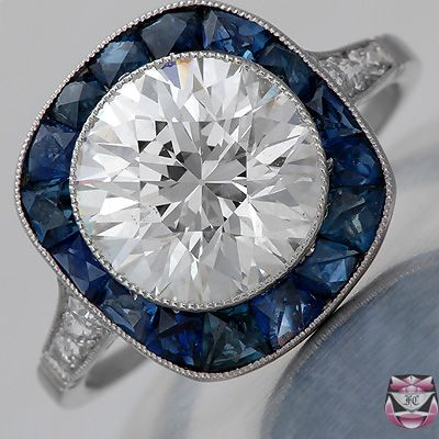 Art Deco Ring | Setting Beautiful and unusual