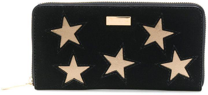 Stella McCartney star patch continental purse