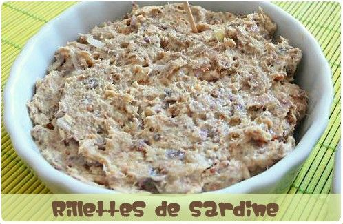 Rillettes de sardine | Recipe