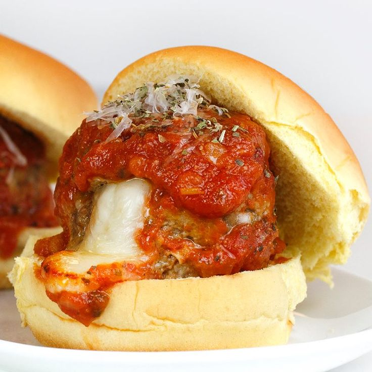 Learn to make Mozzarella Stuffed Meatball Sliders. Read these easy to follow recipe instructions and enjoy Mozzarella Stuffed Meatball Sliders today!