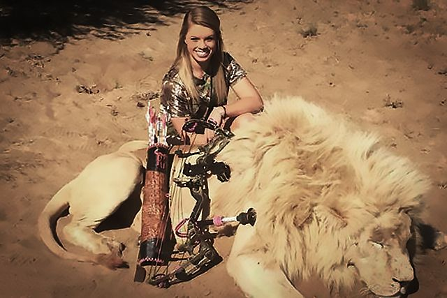 This Texas Cheerleader Likes Killing Lions and Smiling in Photos With Their Carcasses