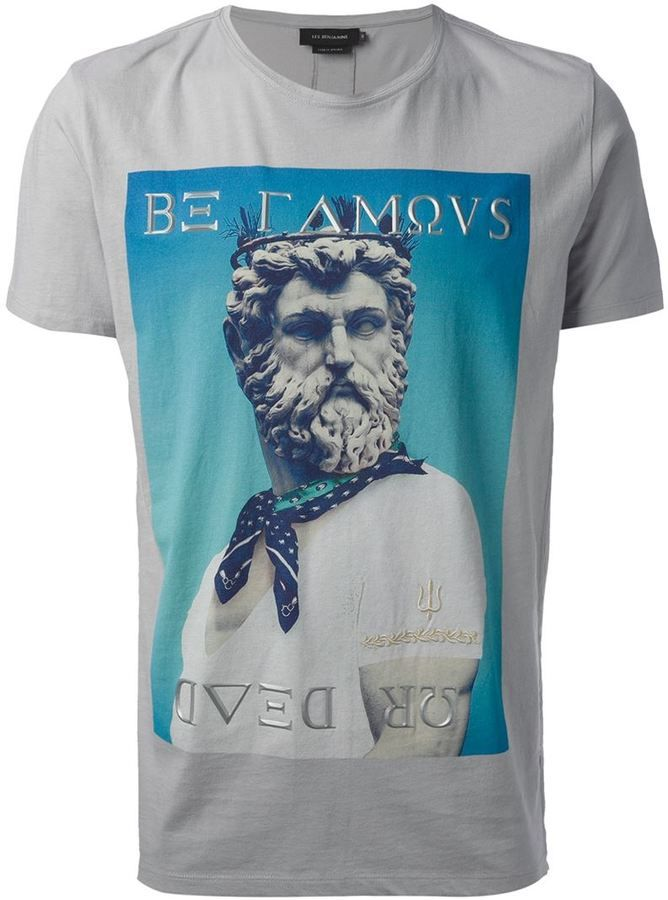 Les Benjamins Be Famous Or Die Cotton Jersey T: Les Benjamins 'Be Famous Or Dead' T-shirt On Shopstyle.co