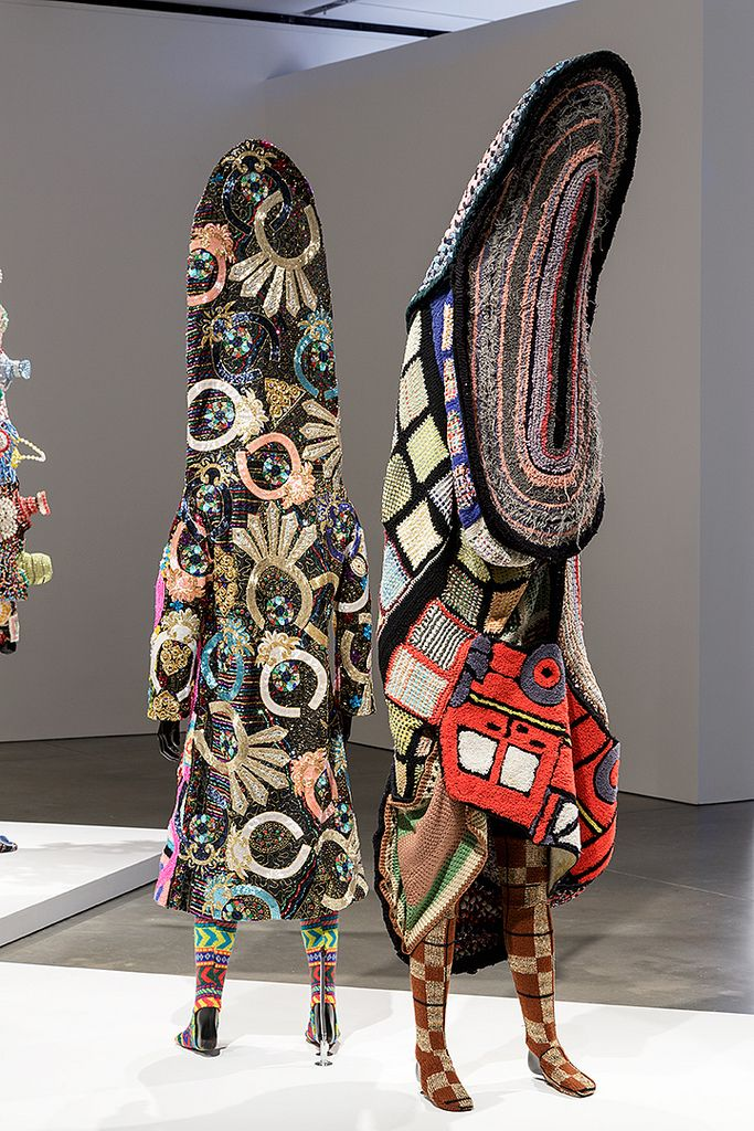 Installation view of Nick Cave at the Institute of Contemporary Art/Boston. Photo by John Kennard.