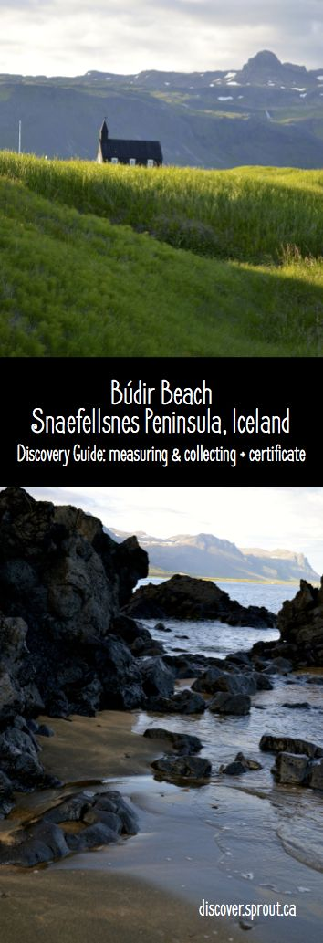Budir Beach, Snaefellsnes Peninsula, Iceland | Use the Iceland Discovery Guide to have fun as a family as you discover the most unexpected places.