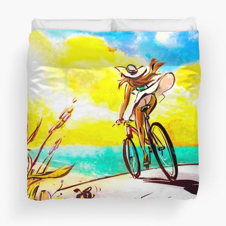 'Beach Ride' by Mo Sherwood