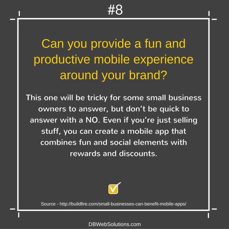Can you provide a fun and productive mobile experience around your brand?  #Fun #Productive #Mobile #Brand #Tricky #SmallBusiness #Business #MobileApp #SocialElements #Rewards #Discounts