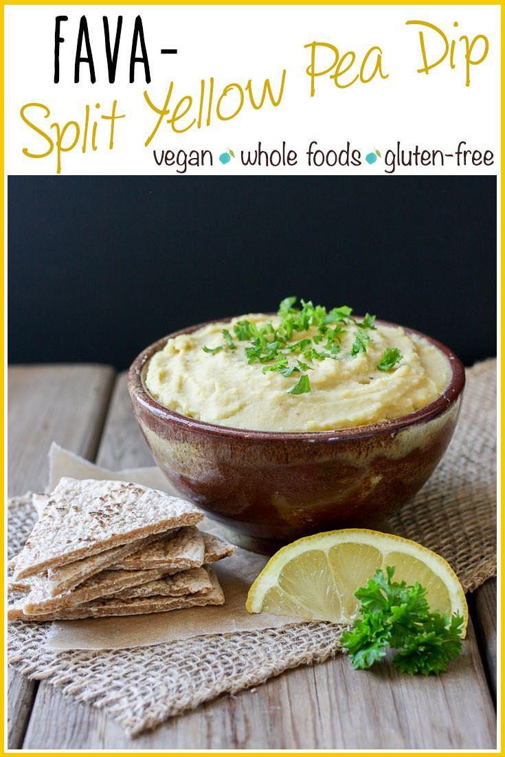 Yellow Split Pea Dip (Greek Fava) | veggiesdontbite.com | #vegan #glutenfree #plantbased #greek #appetizer