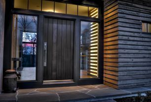 """View this Great Contemporary Front Door with Pathway & Transom window by Moger Mehrhof Architects. Discover & browse thousands of other home design ideas on Zillow Digs."""