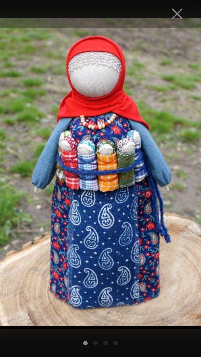 the Mom, traditional Russian doll