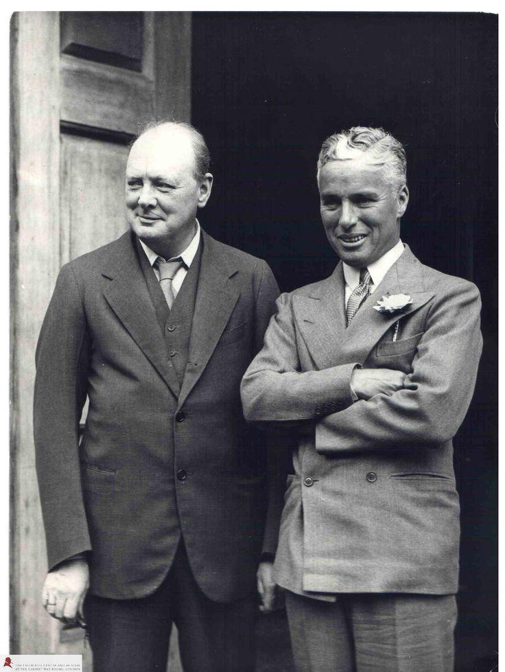 photo Churchill and Chaplin - Google zoeken