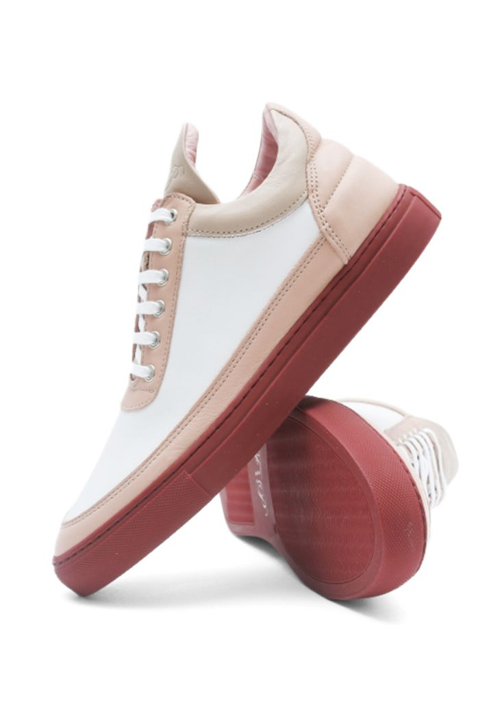 FILLING PIECES LOW TOP NUDE BLADEUX - WHITE