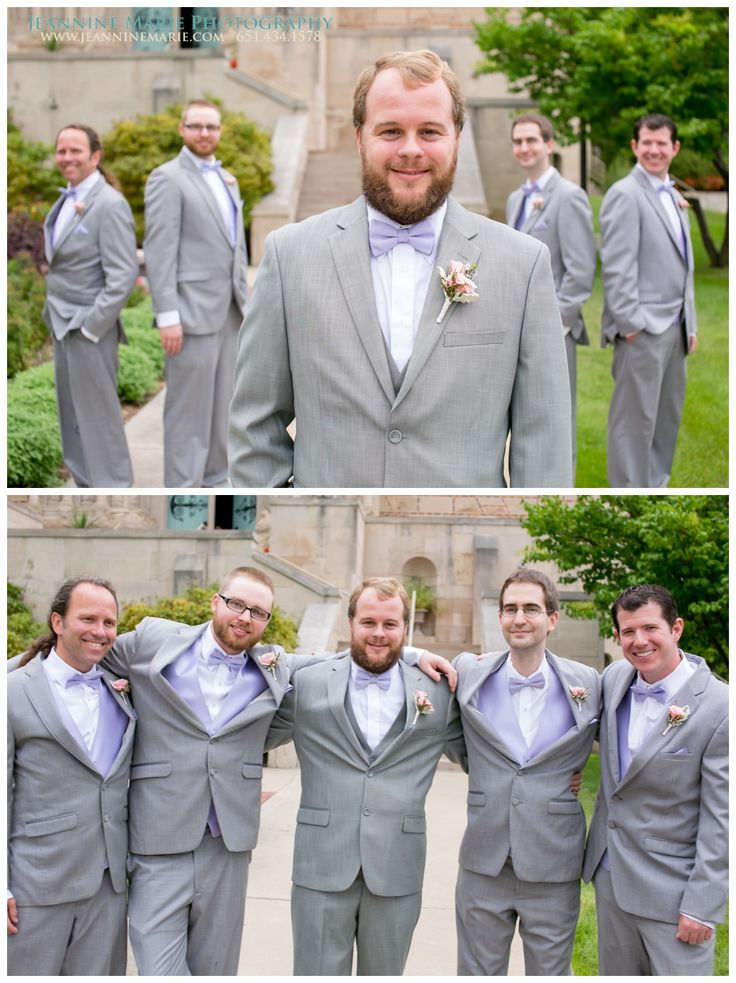 Groomsmen posing for wedding photos - 122.3KB