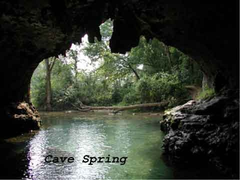 Image result for Sugar Creek southwest MO cave in house