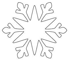 felt snowflake pattern - Google Search