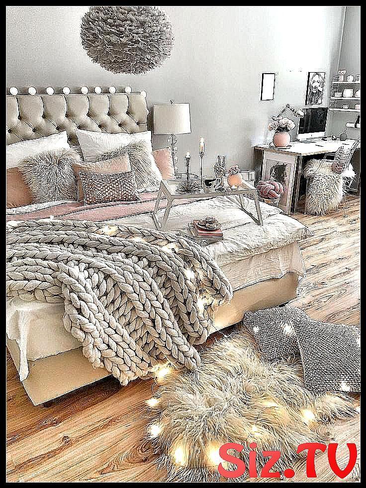 Schlafzimmer Wie man das Bett gem tlich dekoriert Bett classpintag Das dekoriert explore  ...