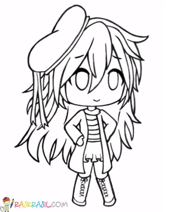 Gacha Life Coloring Pages Unique Collection Print For Free In 2020 Cute Drawings Coloring Pages Pet Store Ideas