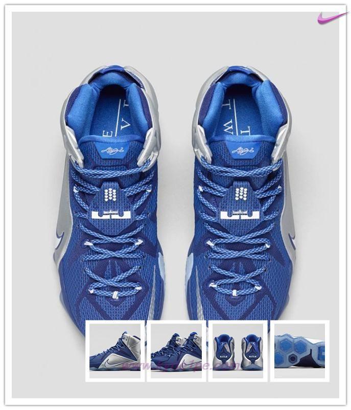 "684593-410 ""What If"" Nike Lebron 12 Blu Reale In Profondità Uomo vendita on line"