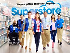 """SUPERSTORE """"Cheyenne's Wedding"""" It's Cheyenne (Nichole Bloom) and Bo's (recurring guest star Johnny Pemberton) dream wedding, but not everything goes according to plan. Meanwhile, relationships unravel as Amy (America Ferrera) and Jonah (Ben Feldman) dodge relationship rumors. Glenn (Mark McKinney) tries to change Jeff's (recurring guest star Michael Bunin) mind after learning of upcoming layoffs, Dina (Lauren Ash) talks her way into the wedding party and Mateo (Nico Santos) dodges Jeff…"""