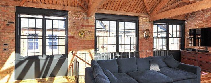 Replacement timber sash windows in London