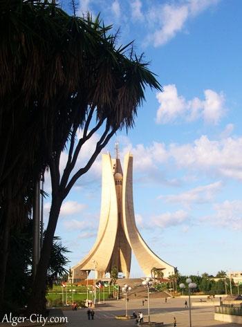 Makam El Chahid à Alger - Mémorial du Martyr